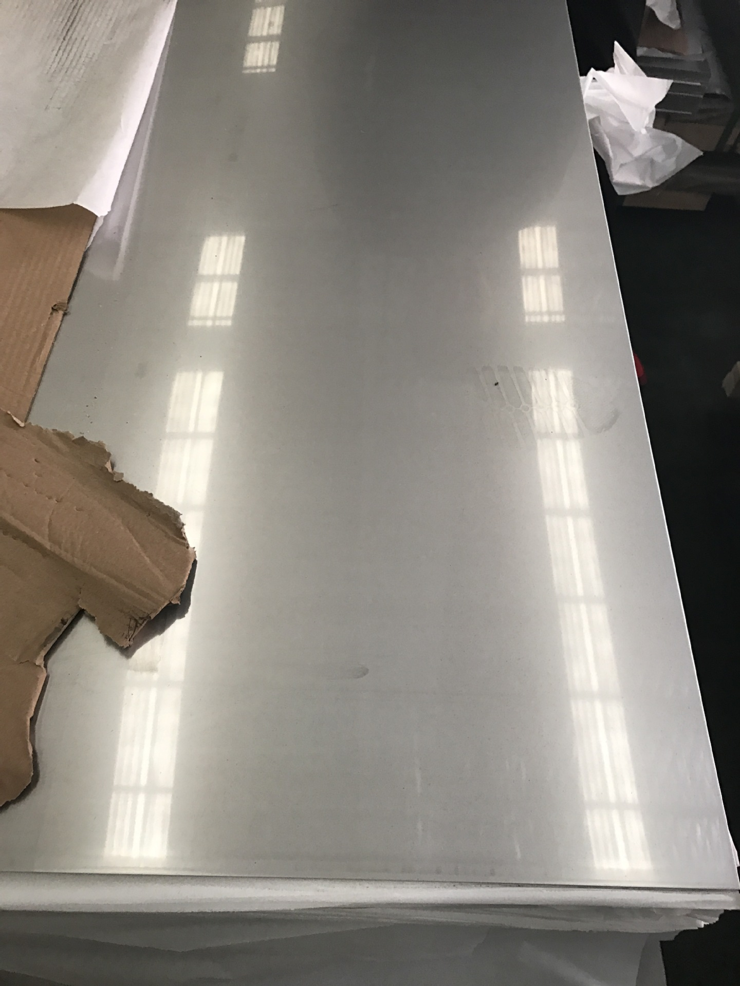 Stainless steel plate mirror drawing polishing 316L stainless steel plate cold rolled plate