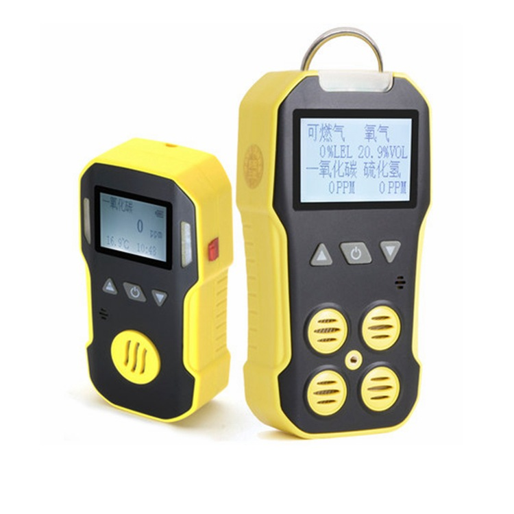 Industrial combustible and harmful gas detection explosion-proof multi-parameter detector four-in-on