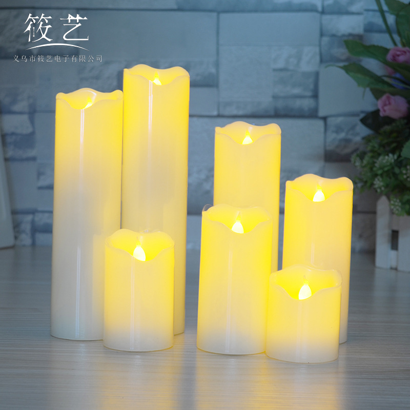 XIAOYI led candle light electronic candle marriage proposal birthday romantic photography arrangemen