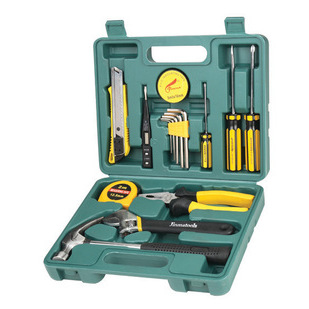 TY 16-piece tool box, practical car gift, hardware tool set, combination tool 8016 special for learn