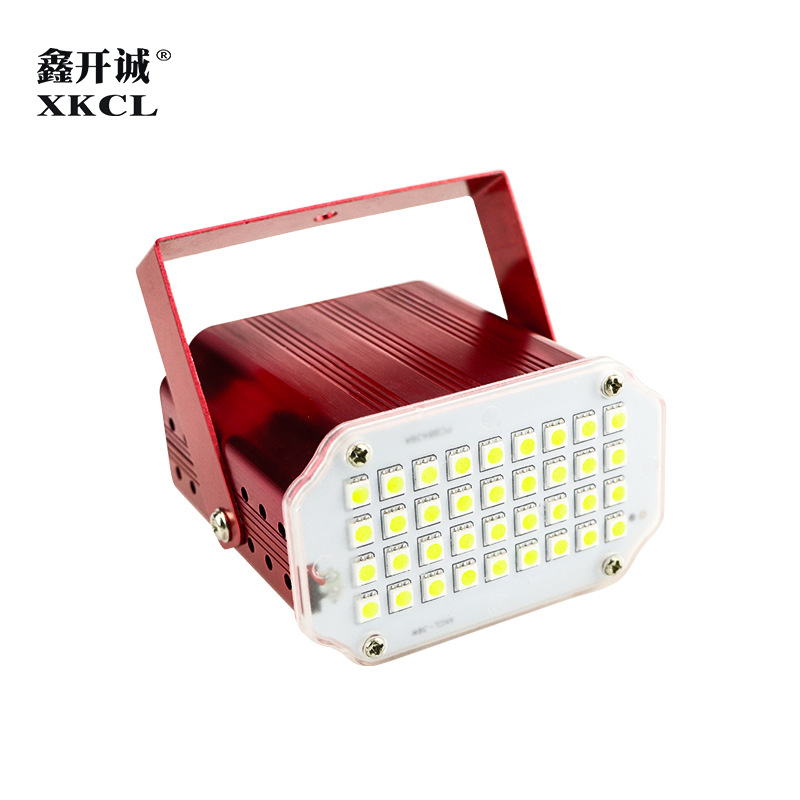 XKCL Stage lighting 48 pcs SMD led strobe light mini KTV private room burst flashing light jumping D