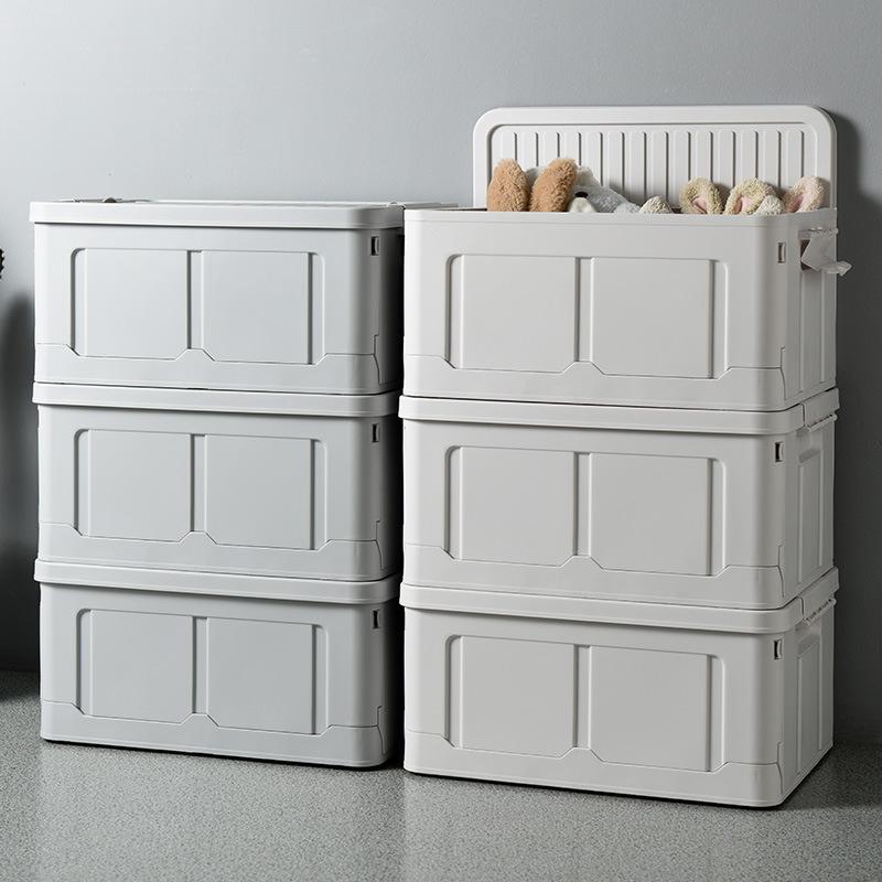 Hộp nhựa đựng đồ lưu trữ lớn , có thể xếp chồng lên nhau  .