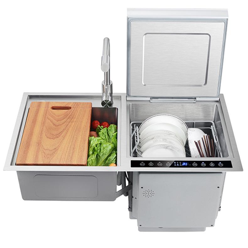Máy rửa bát gia đình thông minh, máy rửa bát tự động nhúng siêu âm