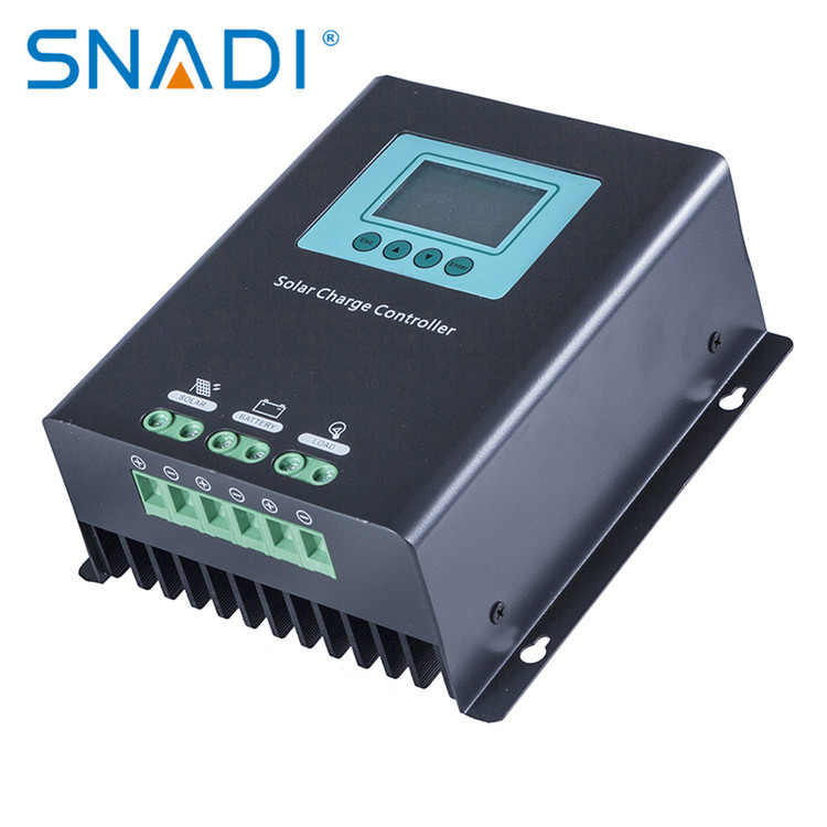 SNADI Snaite manufacturer photovoltaic controller PWM24V/48V voltage automatic recognition LCD displ
