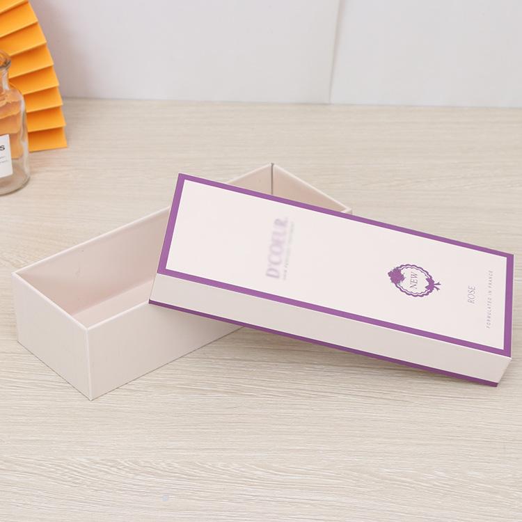 Tiandi cover box custom perfume box jewelry box rectangular tea packaging box small pendant pendant