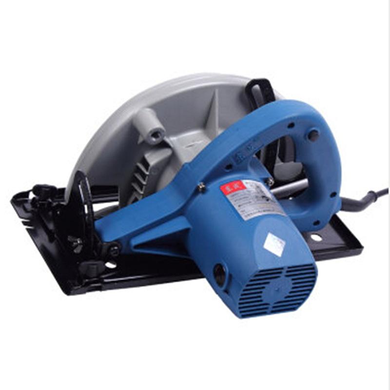 Dongcheng power tool electric circular saw 9 inch wood board aluminum composite panel cutting electr