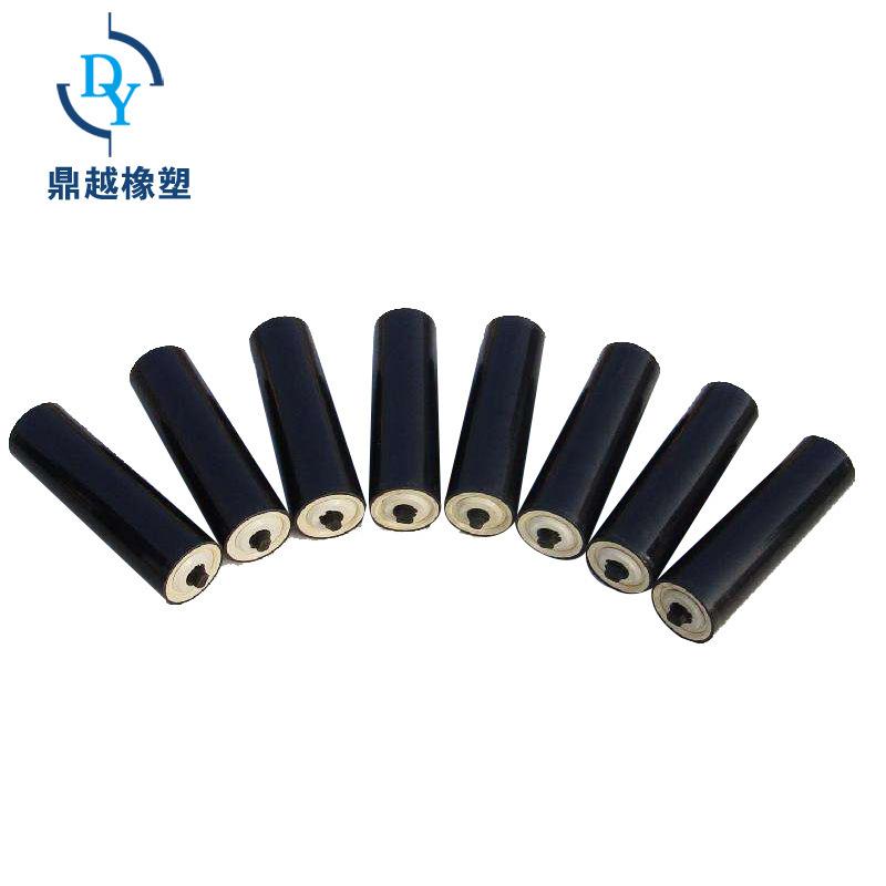DINGYUE Nylon idler does not hurt the belt floor roller conveyor nylon idler polyethylene idler acce