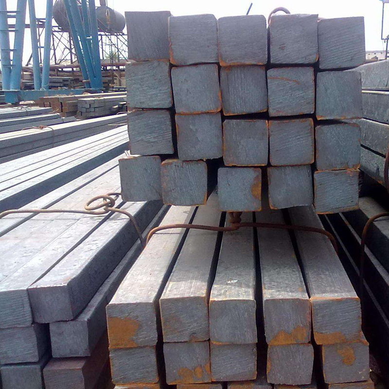 Hot rolled Q235B square steel 80 × 50 × 60, solid square steel with complete hot rolling specificati