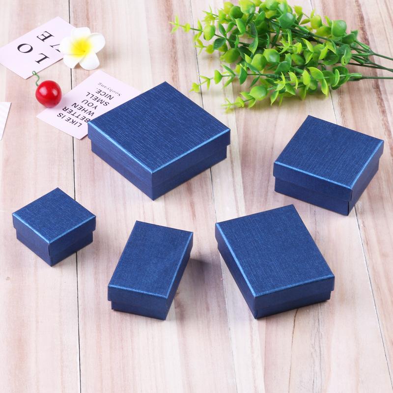 MINGMEI Ring box jewelry packaging box pendant necklace Lenny pattern jewelry box earrings small pap