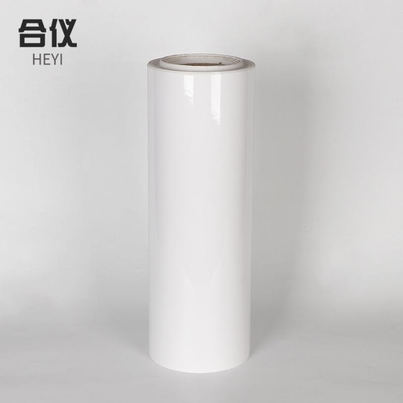 Factory customized 15c transparent electrostatic film roll color self-adhesive printing self-adhesiv