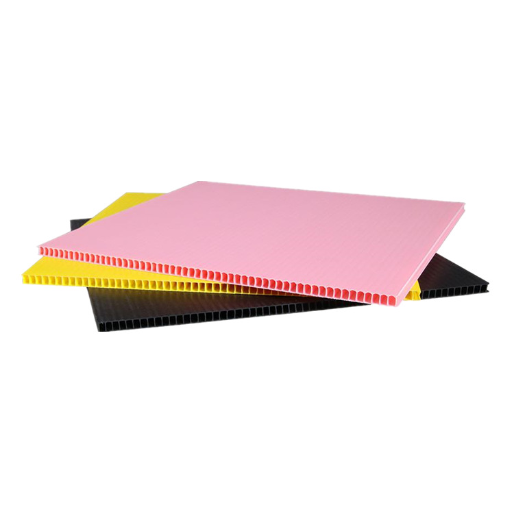 YUANXIN Supply pp hollow board, plastic hollow board, lattice plastic vacuum board, corrugated board