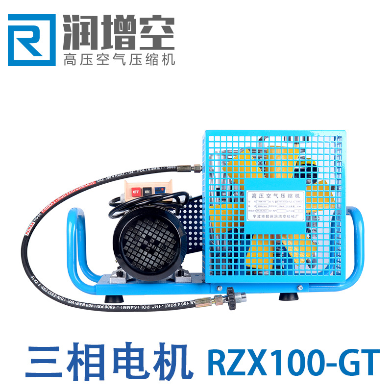 Factory direct air compressor RZX100-GT air compressor medium and high fire diving pressure air comp