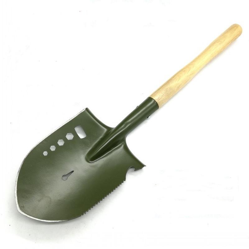 JUNYIN Factory direct sale engineer shovel flower shovel outdoor camping supplies pointed shovel gar