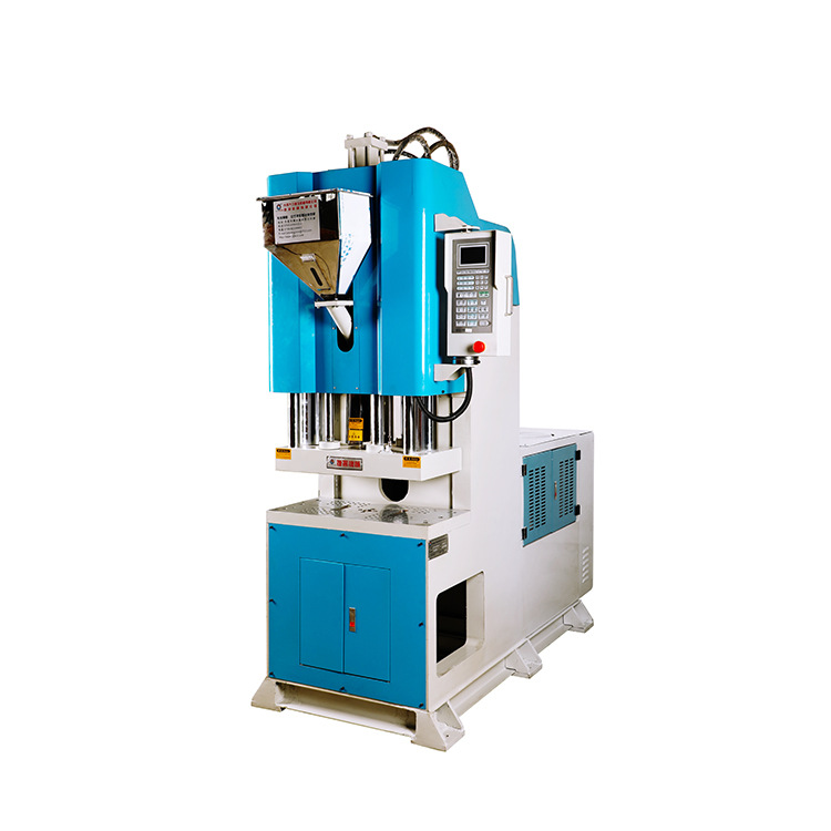JIEYANG New column-free vertical injection molding machine, wire harness automatic production inject