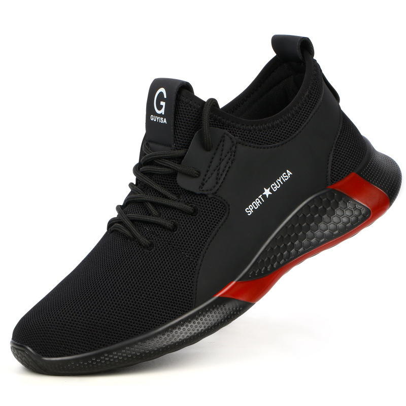 ANTENG Labor insurance shoes men's insulating shoes breathable wear-resistant electrician shoes ant