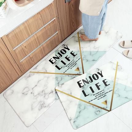 Đệm chân Net nổi tiếng nhà bếp dài dải thảm trải sàn không thấm nước và chống thấm dầu thảm có thể l