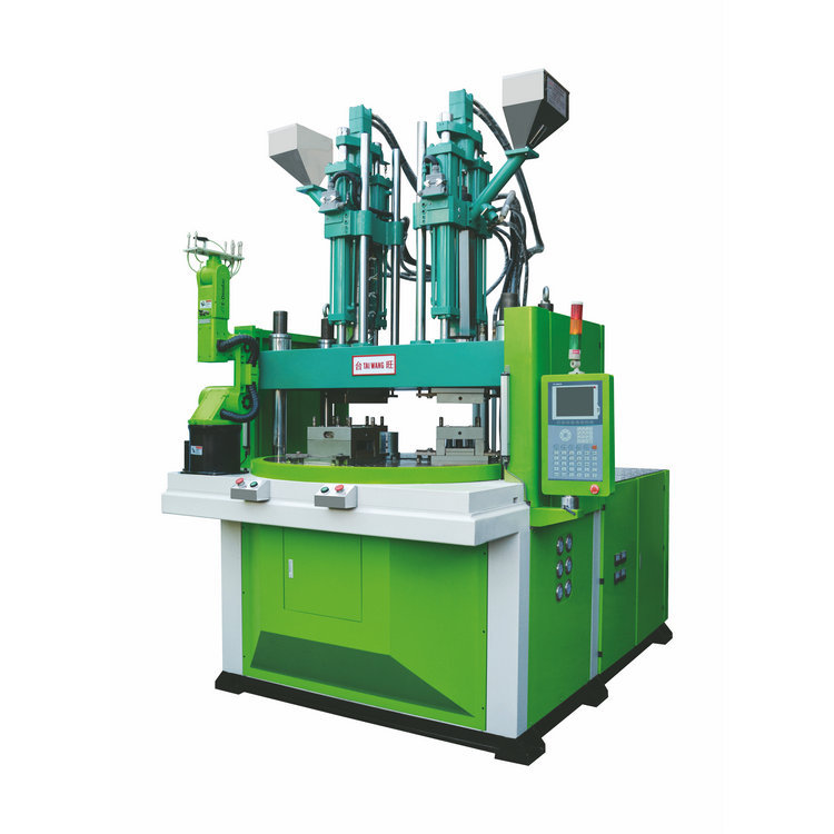 TAIWANG Vertical injection molding machine, disc series supply, Taiwan Wang multi-color toothbrush a