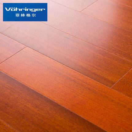 Ván sàn  Sàn gỗ Filinger Sàn gỗ nhiều lớp của Đức 15mm Chủ nghĩa lãng mạn-Teak 08