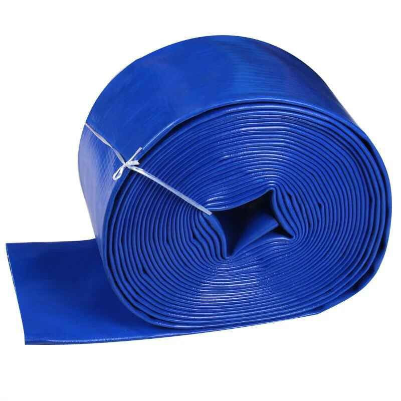 Agricultural PVC blue hose, agricultural irrigation hose, plastic coated hose, 2 inch 2.5 inch fire