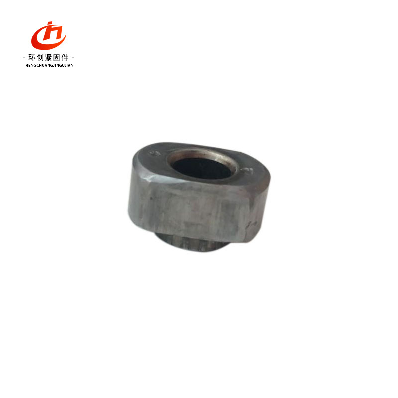 HUANCHUANG Customized hydraulic nut Hexagon stepped nut Hydraulic oil pipe joint nut Non-standard nu