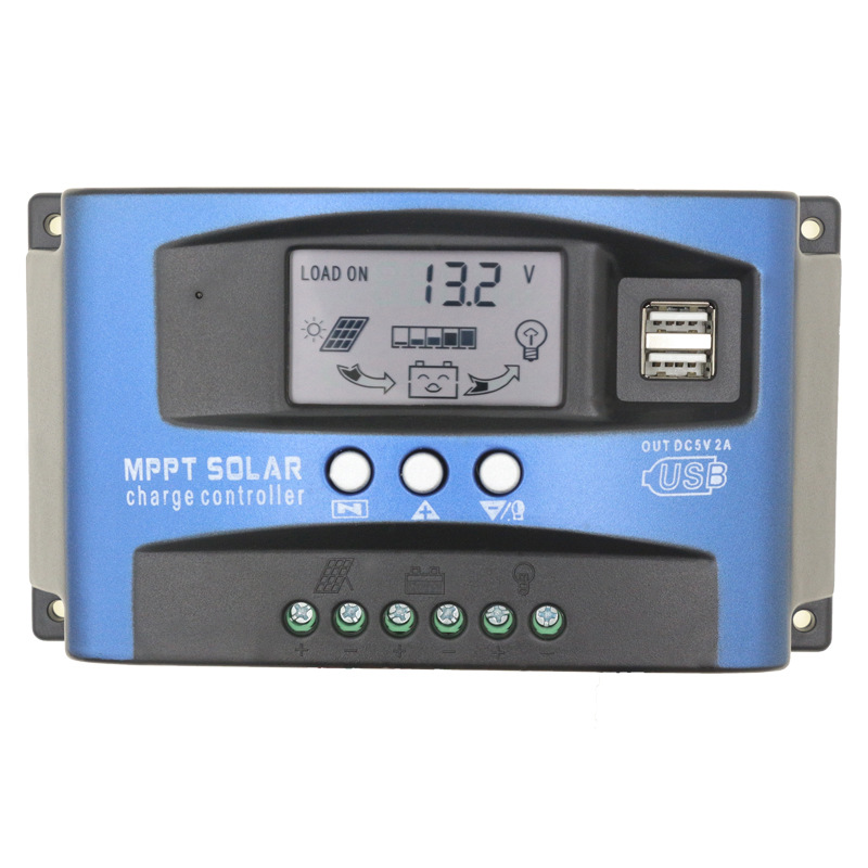 50A solar charge and discharge controller, household solar controller, solar smart controller