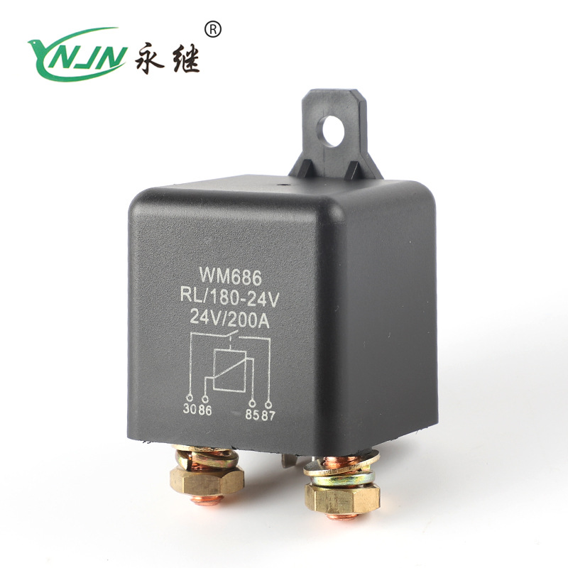 YONGJI Factory direct sales of large current 200A relay car starter relay RL180 starter relay 200