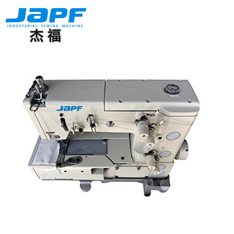 JAPF Jeffrey 1302 Curved Thread Machine Curved Thread Trimming Sewing Machine Lace Machine Double Ne