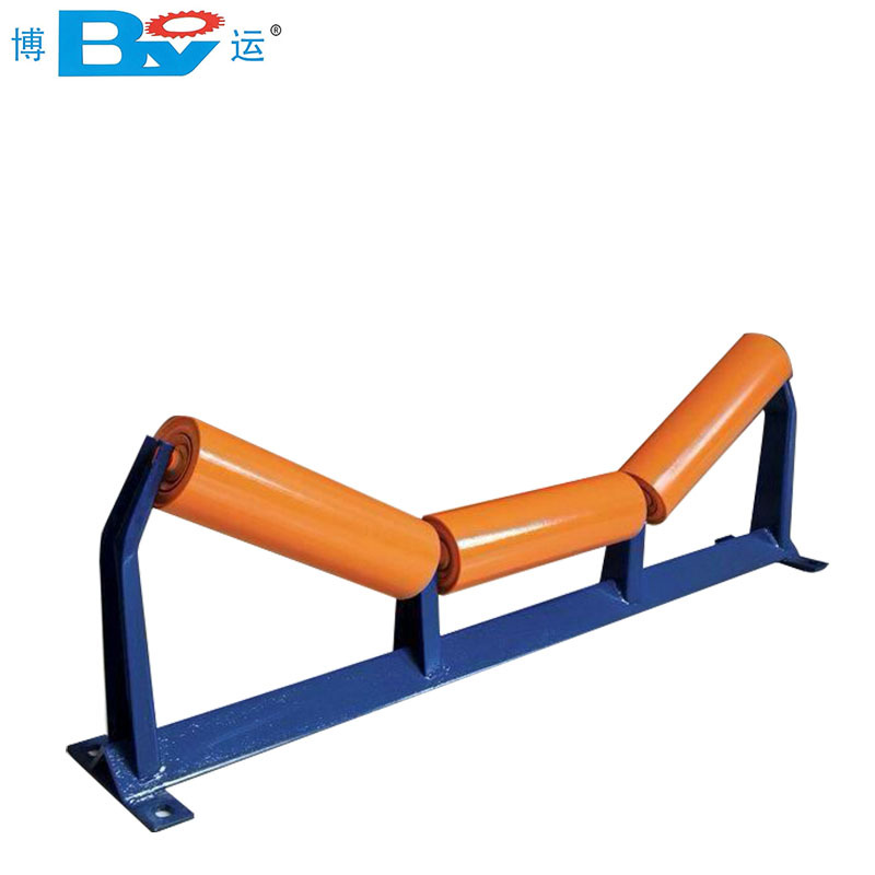 BOYUN Roller manufacturer Trough idler Parallel idler Triple idler group