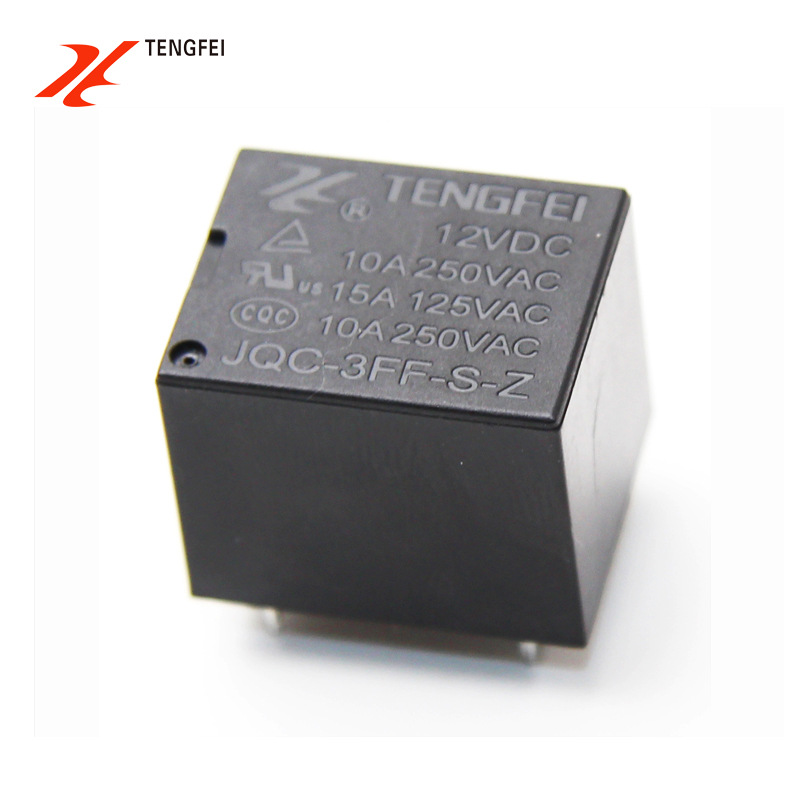 CNTENGFEI T73 relay 5 feet 12V small relay 3F-112D 10A250VAC special for small appliances