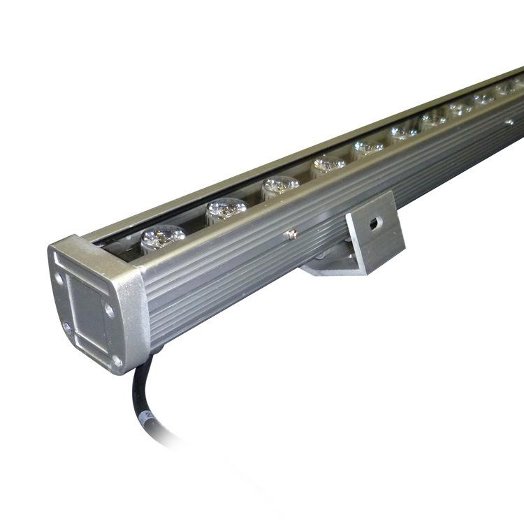 Baihong Outdoor LED Wall Washer 18W24WDMX512 Internal Control Waterproof Highlight Line Light Constr