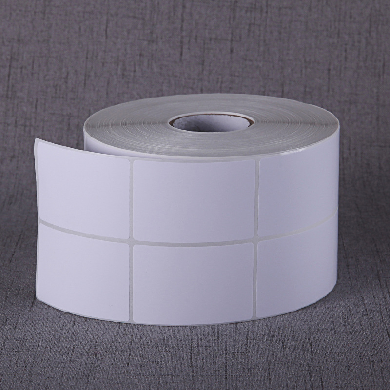 Factory direct self-adhesive barcode paper 30 40 50 60 70 80 90 100 copper paper self-adhesive label