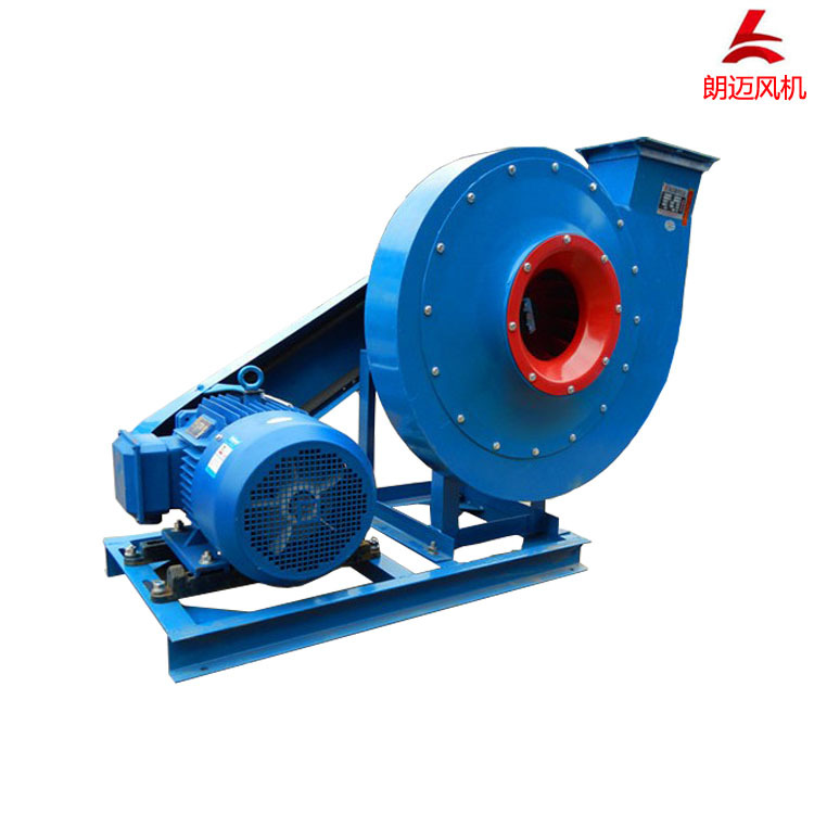 LANGMAI 9-19 high pressure centrifugal fan 4.5C-5.5KW high temperature resistant exhaust fan belt dr