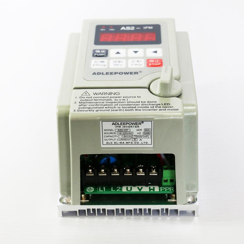 ADLEEPOWER Direct sales ADLEEPOWER Aideli 220V inverter as2-107 speed governor AS2-IPM0.75KW750W