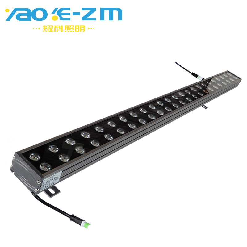 YAOKE New LED wall washer 72W outdoor 48W wall washer for municipal building dmx512 wall washer
