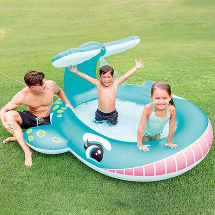INTEX bể bơi trẻ sơ sinh  cho bé và trẻ em bể bơi bơm hơi gia đình bể bóng đại dương lớn bể cát bể b