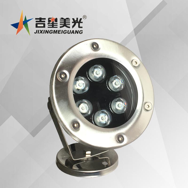 JXMG High-power LED underwater light seven color pool spotlight 3W5W9W12W15W color fountain underwat