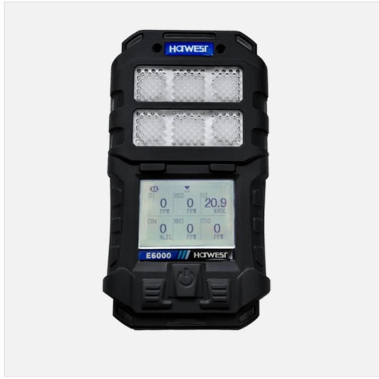 Portable multi-gas detector, combustible gas, toxic gas, VOC, liquid vapor, oxygen