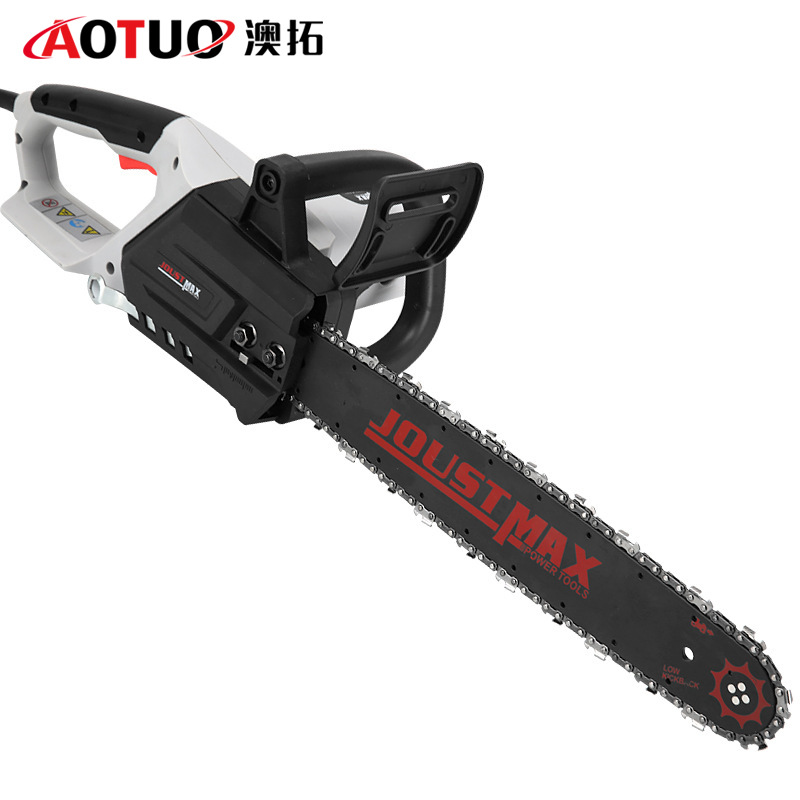 BAILITE Electric chain saw household woodcutter's hand electric saw multifunctional woodworking ang