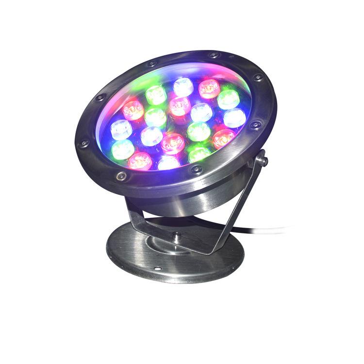 BAIHONG Spot LED underwater light DMX512 full color park swimming pool underwater spotlight 24W36w s