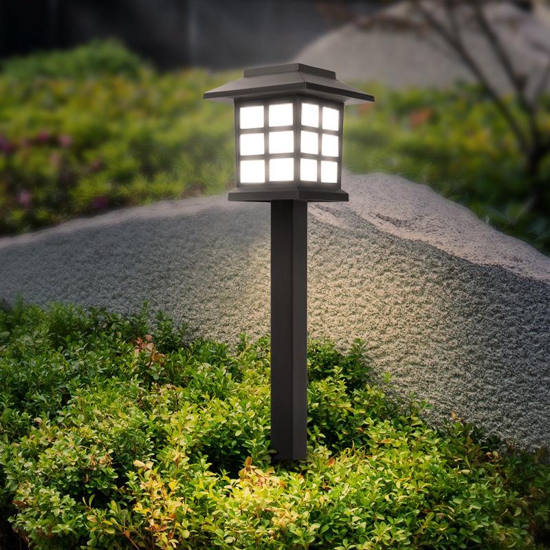 HDH Cross-border for outdoor solar garden night light LED household small house lawn light garden li
