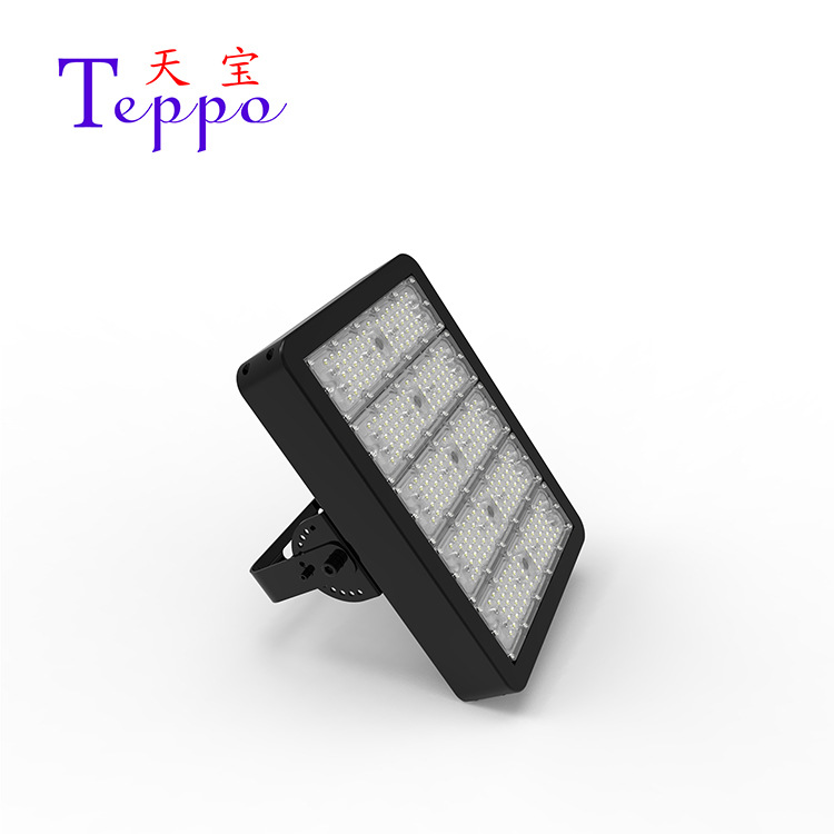 TIANBAO LED tunnel light 250W die-casting type 30/60/90/80*150/90*120 degree bracket angle rotation