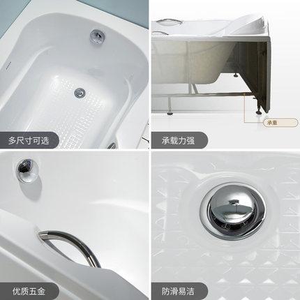 Bồn tắm Wrigley màu trắng dành cho căn hộ nhỏ