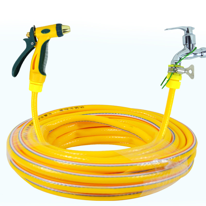 SHENGCHANG 10m household high-pressure car wash water gun set, car washer, flushing hose, car brush