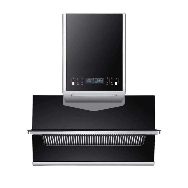 Factory direct range hood, side suction type household kitchen range hood automatic cleaning