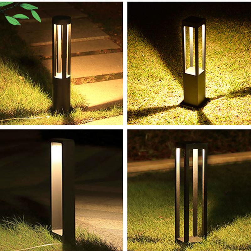 YUMING Lawn lamp outdoor waterproof outdoor floor garden park villa community road courtyard landsca