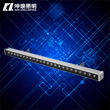 Kunlang lighting LED wall washer line lamp 12w18w24w36w curtain wall decoration tourist attractions