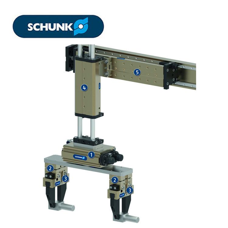 Bộ truyền động quay đa năng Schunk - Sê-ri SRU .
