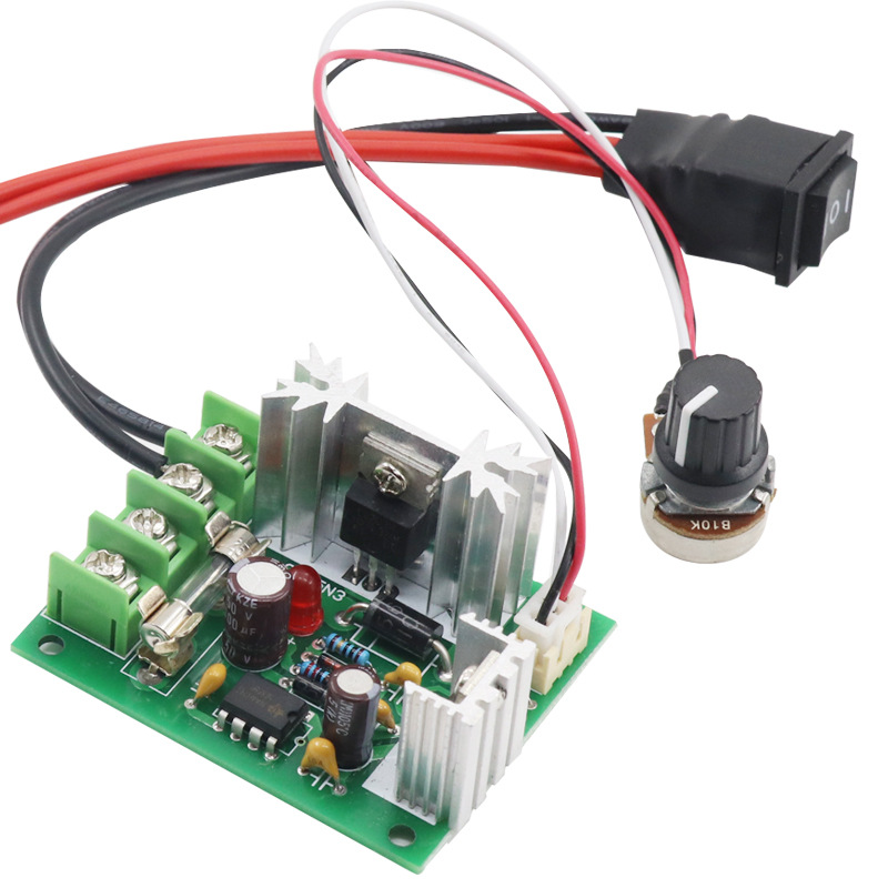 XINDA Spot 12V24V DC motor governor 120W forward and reverse control motor transmission 10A electron