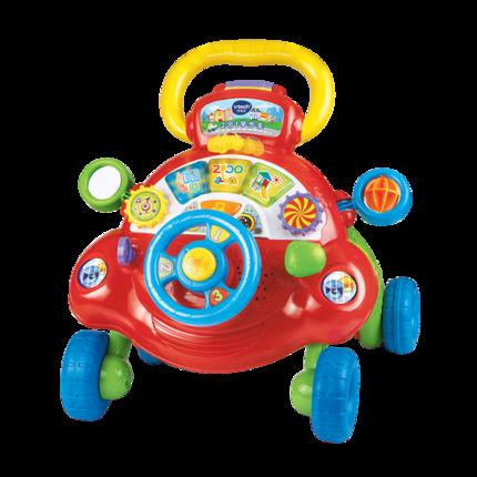 Xe tập đi VTech Xe đẩy trẻ em VTech Chống lật Đồ chơi trẻ em đa chức năng Toddler Walker