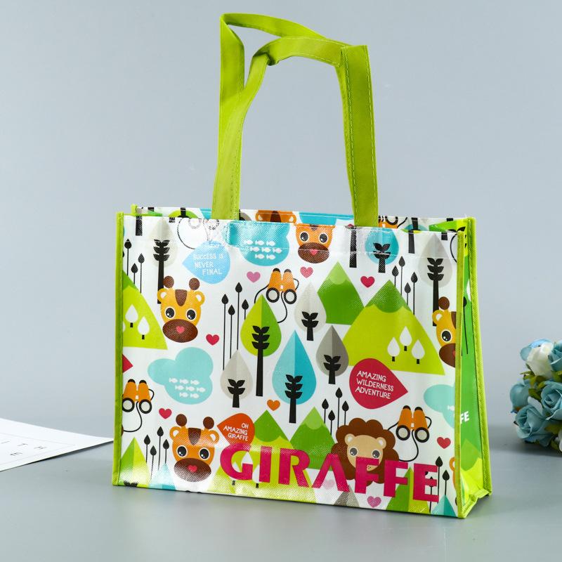 Non-woven bags, environmentally friendly shopping bags, non-woven tote bags, advertising promotional